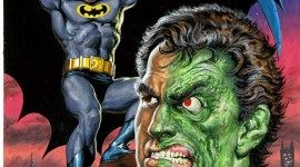 Batman Vs Two-Face Wallpaper For Android#1
