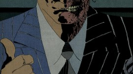Batman Vs Two-Face Wallpaper For IPhone#1