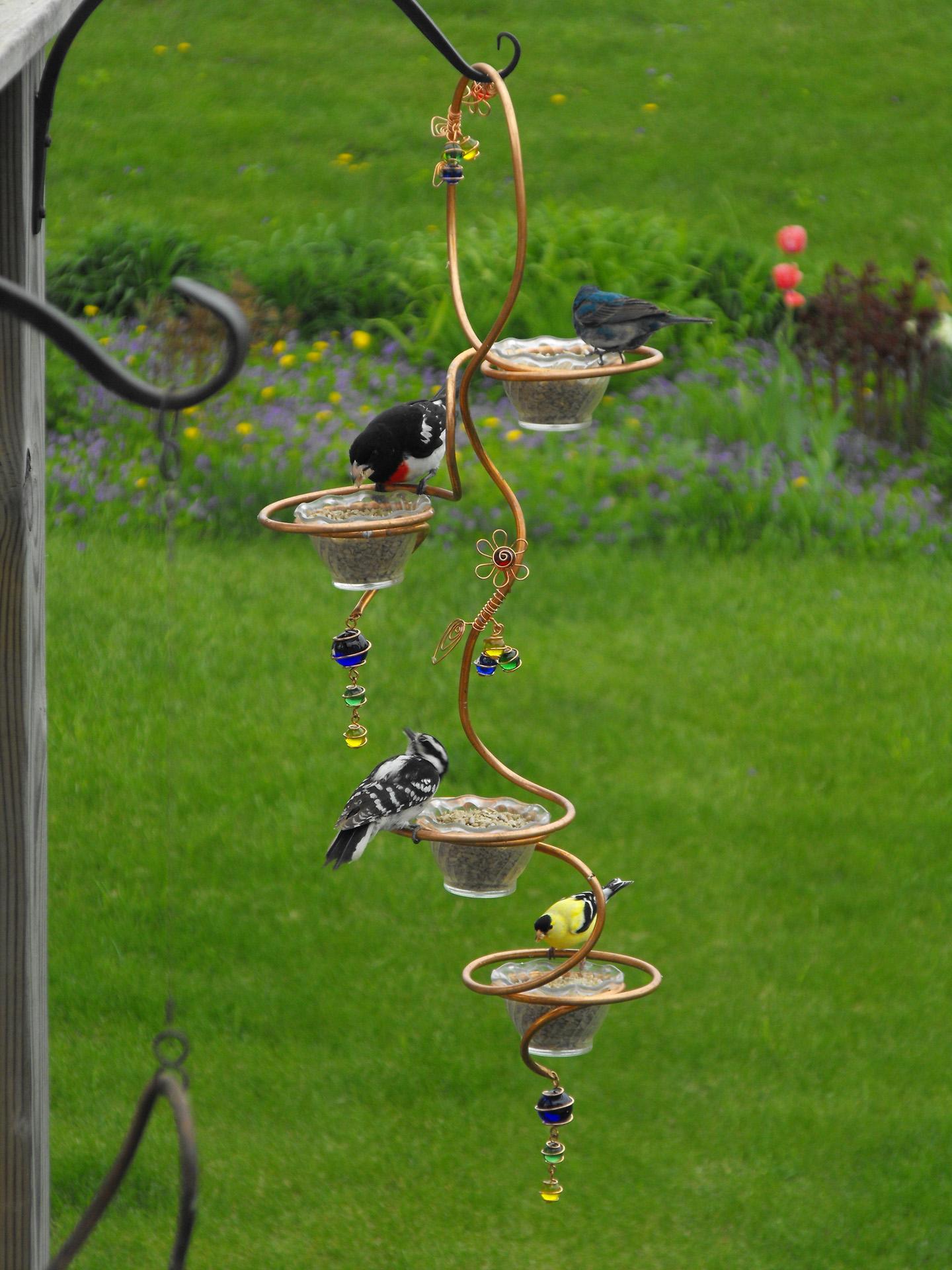 Кормушки для домашней птицы своими руками оригинальные идеи