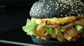 Black Star Burger Wallpaper High Definition