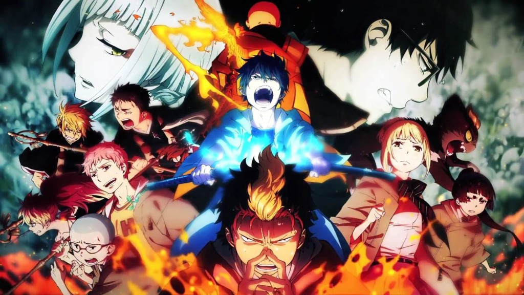 Blue Exorcist Kyoto Impure King Arc wallpapers HD