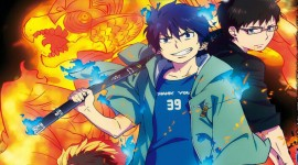 Blue Exorcist Kyoto Impure King Arc Wallpaper HQ
