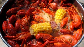 Boiled Crawfish Desktop Wallpaper HD