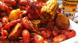 Boiled Crawfish Wallpaper Download