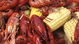 Boiled Crawfish Wallpaper For IPhone Download