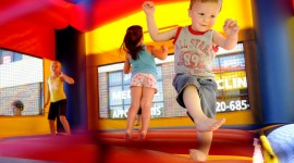 Bouncing Kids Wallpaper Free