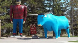 Bunyan And Babe Photo