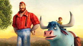 Bunyan And Babe Wallpaper Free