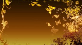 Butterfly Frames Wallpaper