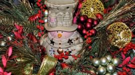 Candle Snowman Best Wallpaper