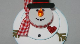Candle Snowman Wallpaper Gallery