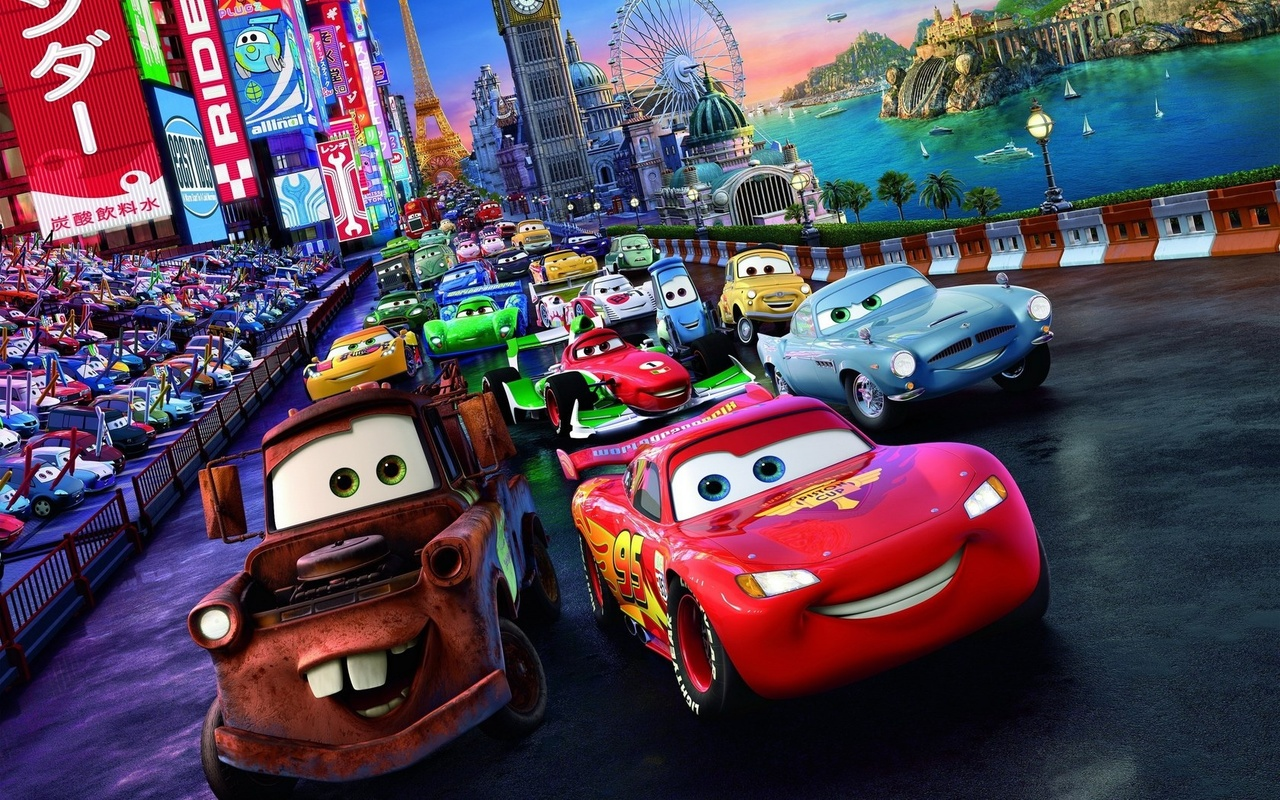 Cars Wallpapers: Cars 2 Wallpapers High Quality
