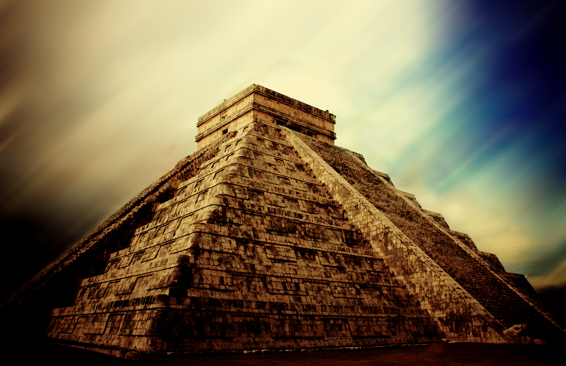 chichen itza in mexico wallpapers high quality | download free