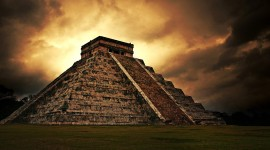 Chichen Itza In Mexico Desktop Wallpaper Free
