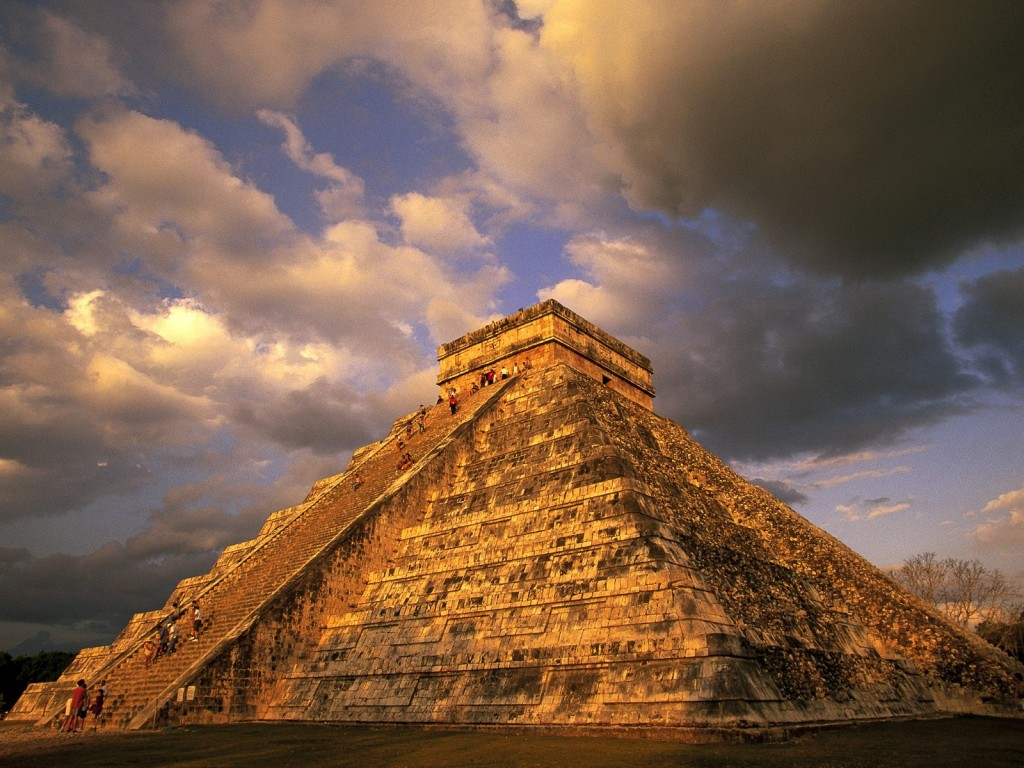 Chichen Itza In Mexico wallpapers HD