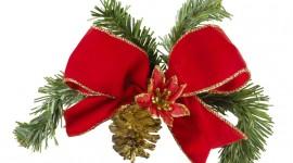 Christmas Bows Wallpaper HQ