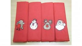 Christmas Napkins Desktop Wallpaper