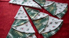 Christmas Napkins Photo