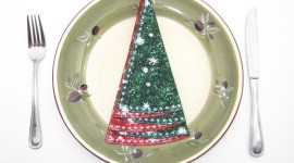 Christmas Napkins Wallpaper