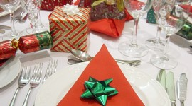 Christmas Napkins Wallpaper For Android