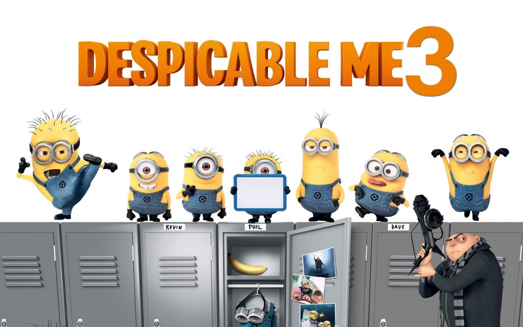 Despicable Me 3 wallpapers HD