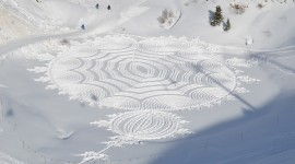 Drawing In The Snow Wallpaper Gallery