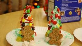Edible Christmas Trees Wallpaper HQ
