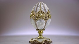 Eggs Faberge Wallpaper