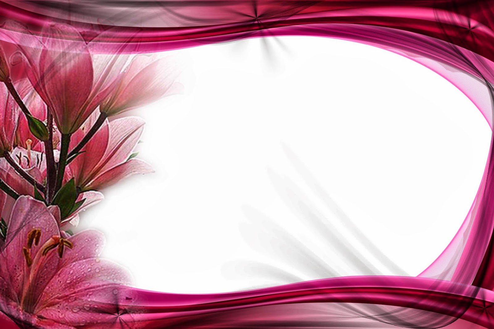Floral Frame Wallpapers High Quality | Download Free