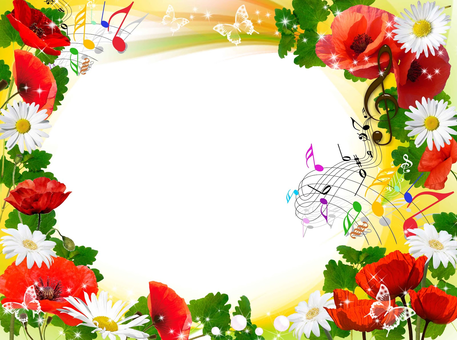 Floral frame wallpapers high quality download free - Flower wallpaper border ...