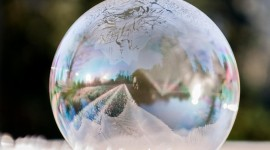 Frozen Bubbles Photo Download#1