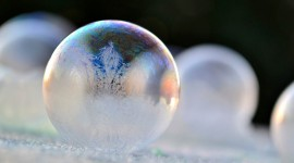 Frozen Bubbles Wallpaper Download