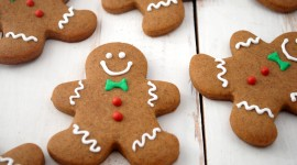 Gingerbread Cookie High Quality Wallpaper