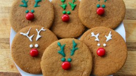 Gingerbread Cookie Wallpaper Download Free
