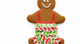 Gingerbread Cookie Wallpaper For Desktop
