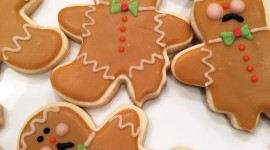 Gingerbread Cookie Wallpaper For IPhone