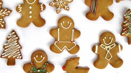 Gingerbread Cookie Wallpaper Free
