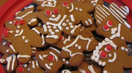 Gingerbread Cookie Wallpaper HD
