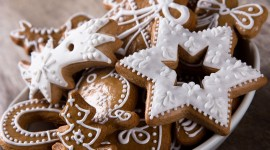 Gingerbread Cookie Wallpaper High Definition