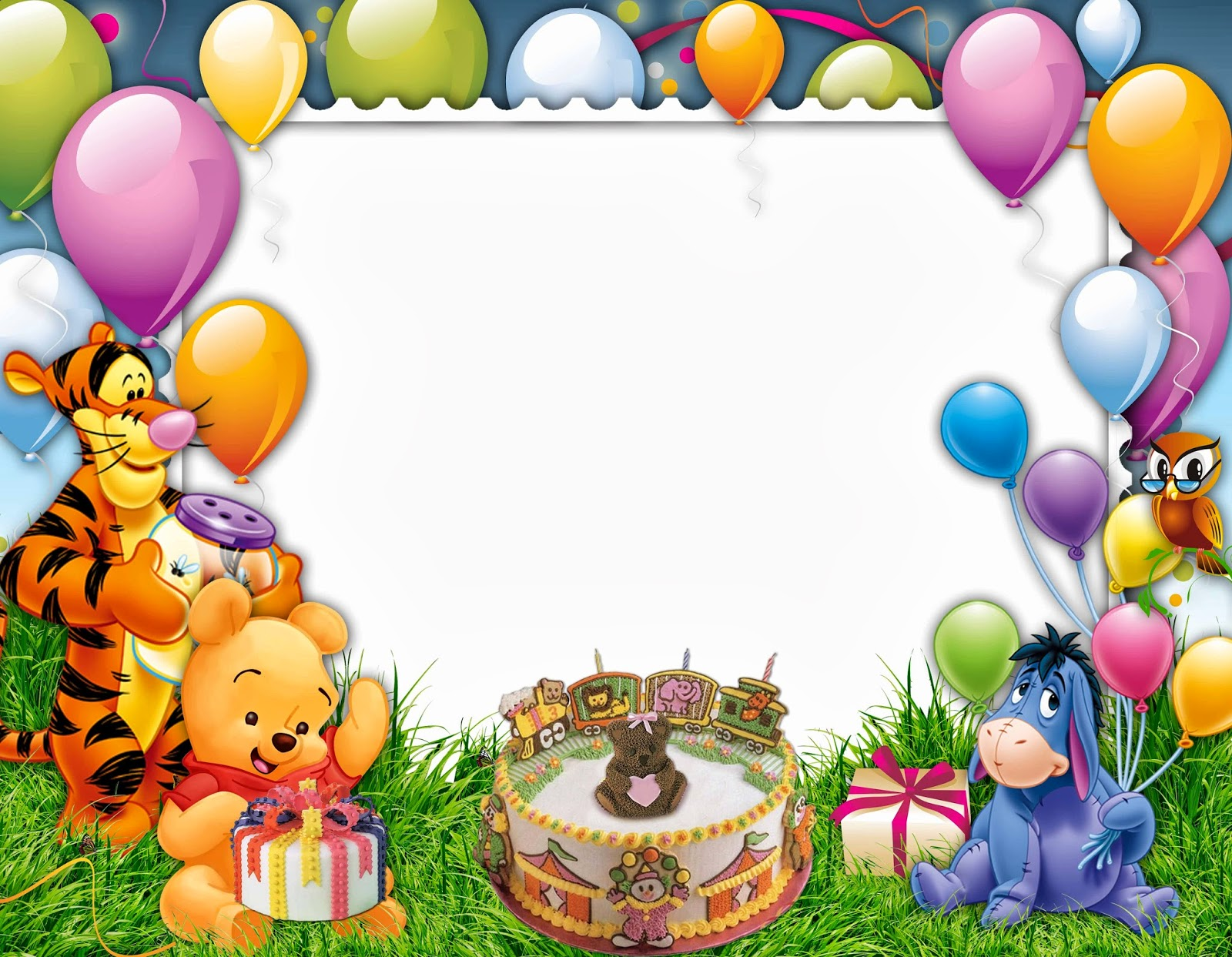 Colorful Hd Birthday Frames Festooning - Picture Frame Ideas ...