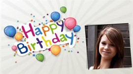 Happy Birthday Frame Photo Download
