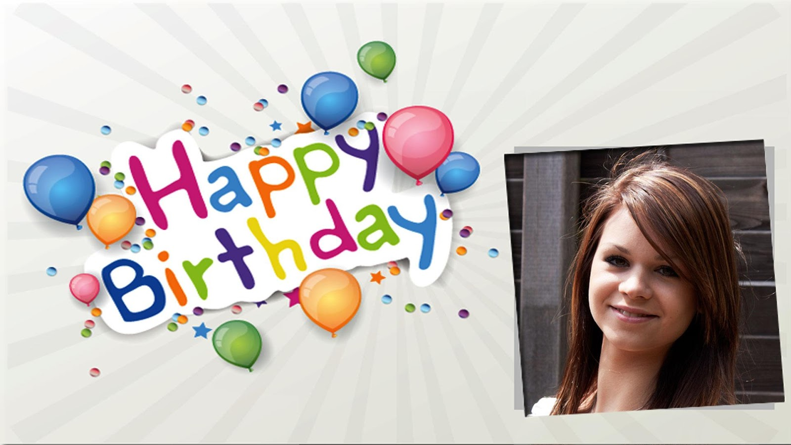 Happy Birthday Frame Wallpapers High Quality | Download Free