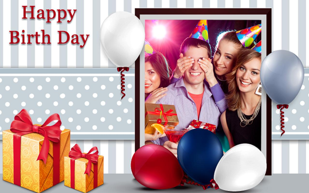 Happy Birthday Frame Wallpapers High Quality Download Free