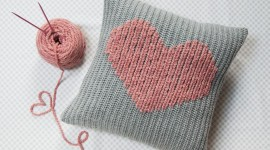 Heart Pillow Desktop Wallpaper HD