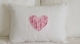 Heart Pillow Photo#1
