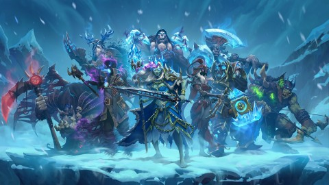 Hearthstone Knights Of The Frozen Throne wallpapers high quality