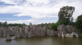 Karst Forest Shilin In China Desktop Wallpaper HD