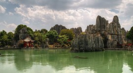 Karst Forest Shilin In China Wallpaper HQ