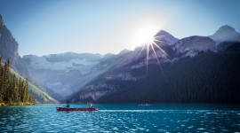 Lake Louise Desktop Wallpaper HD
