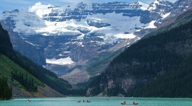 Lake Louise Wallpaper HD